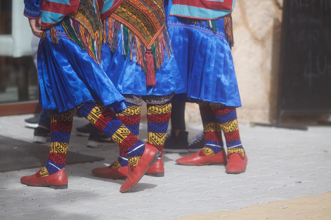 Yeşilada Festival, traditional socks