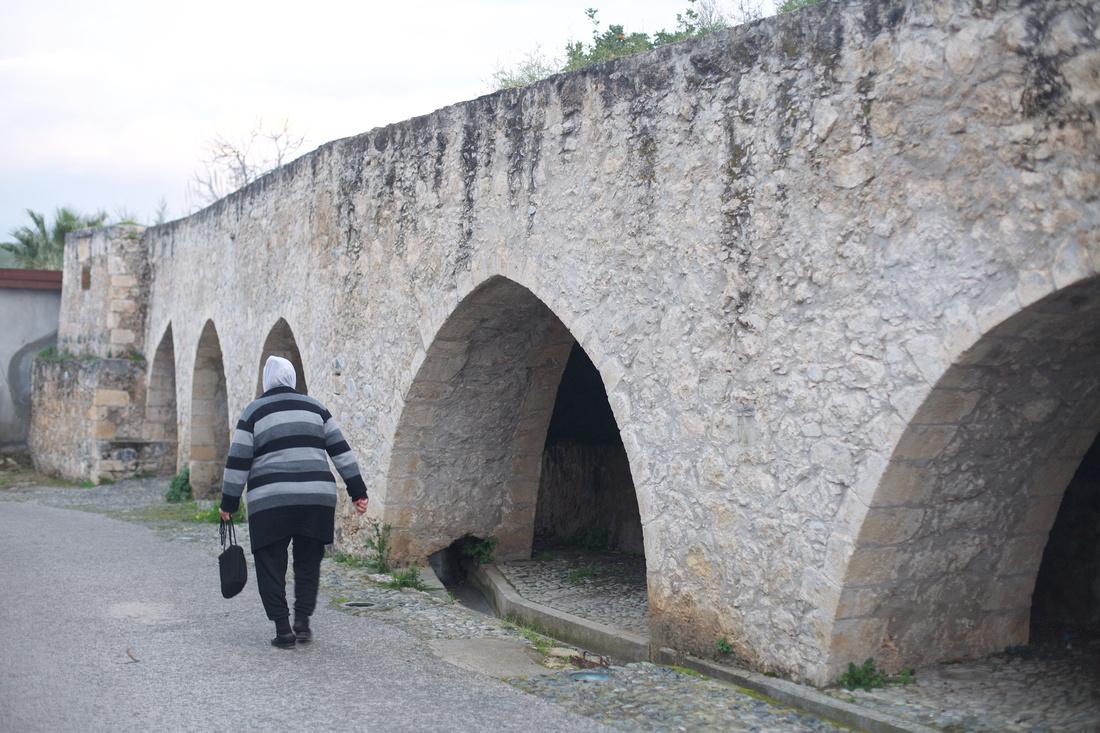Lefke, old aquiduct system